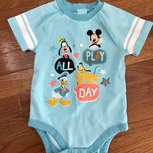 Disney Pals Short Sleeve Bodysuit